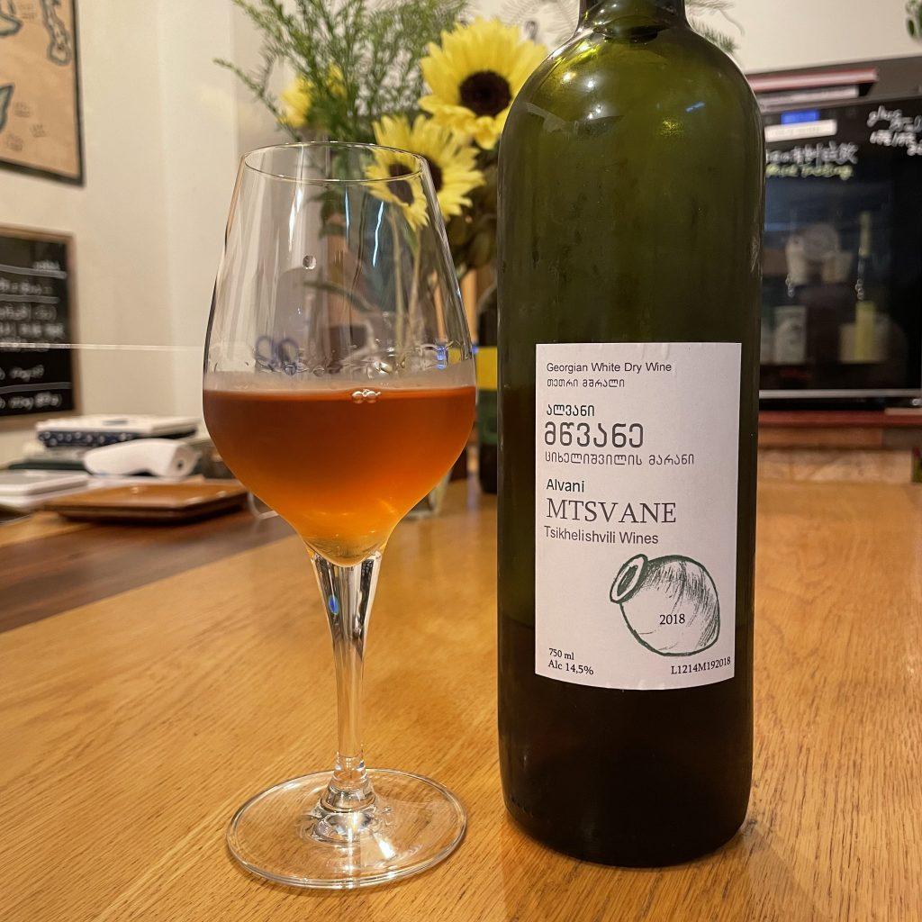 ジョージアのアンバーワイン